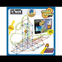 Knex- Montaña Rusa clock work con motor