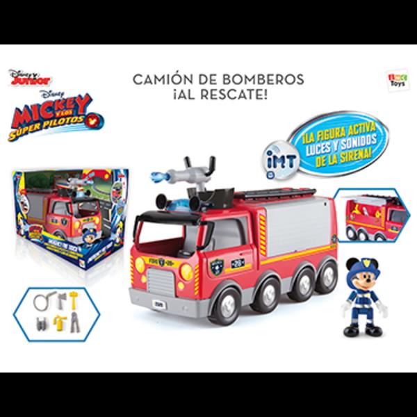 CAMION DE BOMBEROS AL RESCATE MICKEY