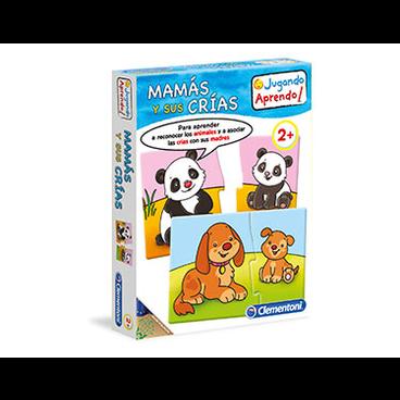 APRENDE MAMAS Y CACHORROS