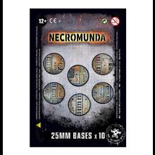 NECROMUNDA 25mm BASES (X10)