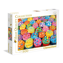 500 Colorful Cupcakes