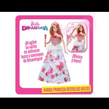 BARBIE PRINCESA DESTELLOS DULCES