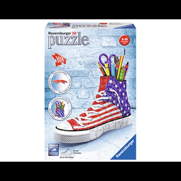 3D Portalápices 108 piezas- Sneaker Flag
