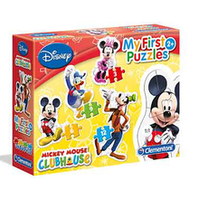 3+6+9+12 Mickey Mouse Club House My first puzzle