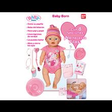 BABY BORN INTERACTIVO NIÑA