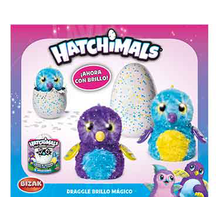 HATCHIMALS DRAGGLE BRILLO MAGICO
