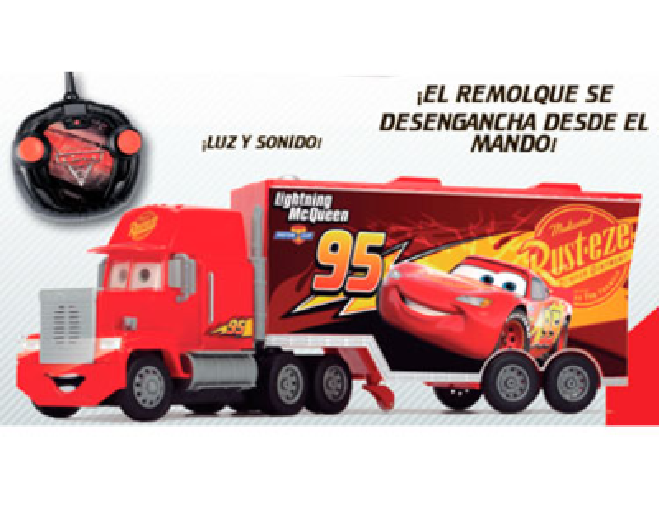 cars 3 rc camion mack 1 24 joguines carreres. Black Bedroom Furniture Sets. Home Design Ideas