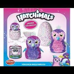 Hatchimals pengua brillo mágicos