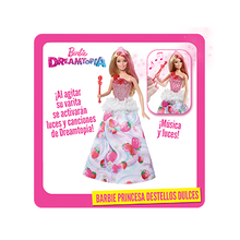 BARBIE PRINCESA DESTELLOS DULCES