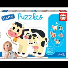 BABY PUZZLES ANIMALES GRANJA