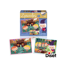 2*48 PUZZLE CUENTO CASITA CHOCOLATE