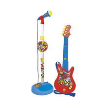 Micro y Guitarra Superzings