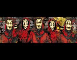 1000 PANORAMA LA CASA DE PAPEL