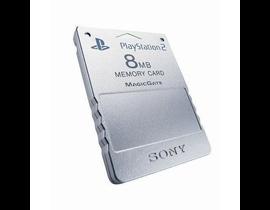 MEMORY CARD 8MB PLAYSTATION 2