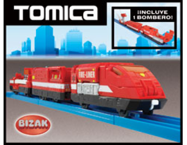 TOMICA-HYPER CITY RESCUE FIRE LINER Tomica 85100