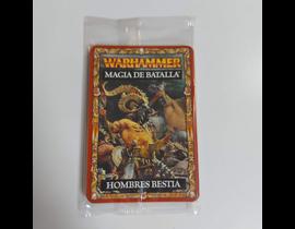 WARHAMMER MAGIA DE BATALLA HOMBRES BESTIA