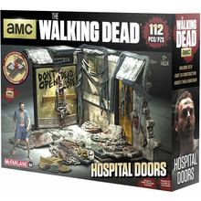 SET CONSTRUCCION PUERTAS HOSPITAL WALKING DEAD