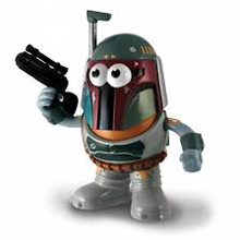 BOBA FETT MR POTATO STAR WARS